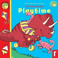 Triceratops Playtime